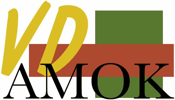 The logo of VD AMOK